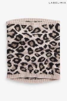 Mix/Somerville Leopard Snood