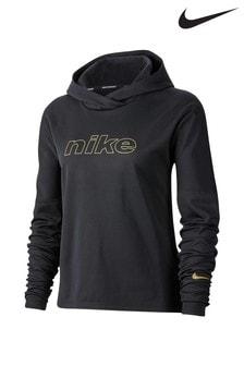 Nike Glam Black Running Hoody