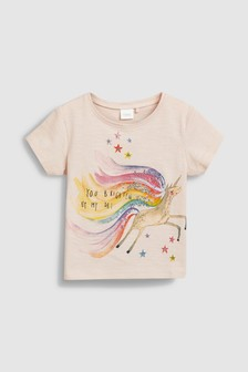 Short Sleeve Unicorn Tee (3mths-7yrs)
