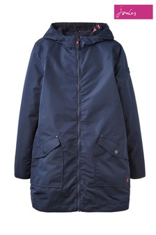 Joules Blue Dockland Reversible Raincoat