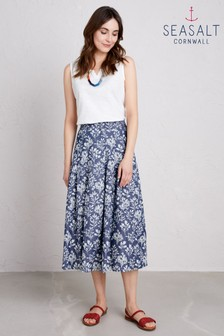 Seasalt Blue Jamboree Skirt