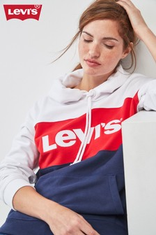 Sweat à capuche Levi's® multicolore