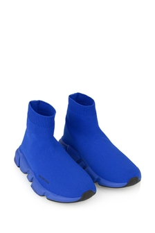 Kids Electric Blue Speed Trainers