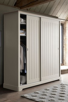Hampton Country Luxe Sliding Wardrobe