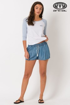 Animal Blue Pippa Too Woven Short