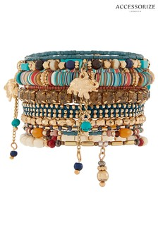 Accessorize Luxe Stretch Bracelet Pack