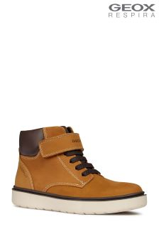 Geox Riddock Boy Waterproof Dark Yellow Ankle Boot