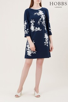 Hobbs Blue Sunny Dress