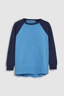 Long Sleeve Raglan T-Shirt (3-16yrs)