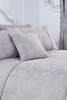 Serene Purple Jasmine Cushion