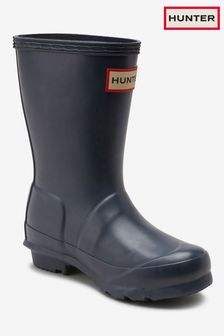 Hunter Kids Navy Original Welly
