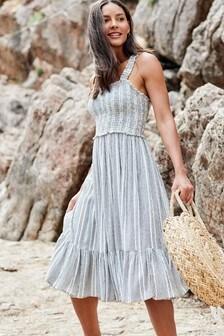 Texture Midi Dress