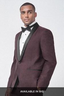 Textured Tuxedo Suit