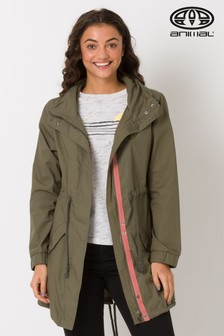 Animal Green Niant Parka Jacket
