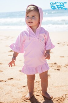 Platypus Australia Pink Towelling Cover-Up