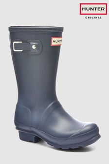 Hunter Navy Kids First Classic Wellington Boot