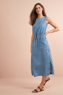 Tencel® Pocket Dress
