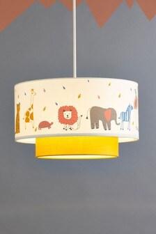 غطاء مصباح سهل التركيب Jungle Jamboree