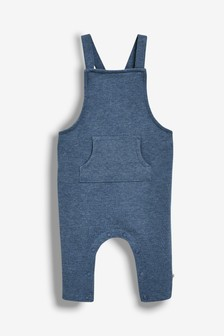 Baby Girls' Clothing (0-24 Months) The Cheapest Price Next Baby Boy Girl Denim Look Dungarees With Stars