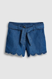 Scallop Hem Shorts (3-16yrs)