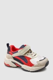 Baskets à lacets élastiques et semelles épaisses (Enfant)