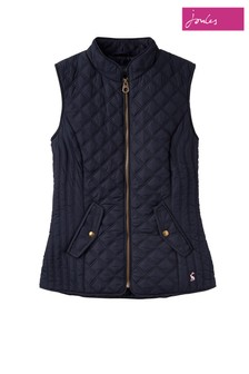 186a03310a36 Joules Blue Minx Quilted Gilet
