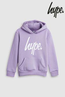 Hype. Purple Print Hoody
