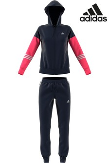adidas Navy/Pink Energize Tracksuit