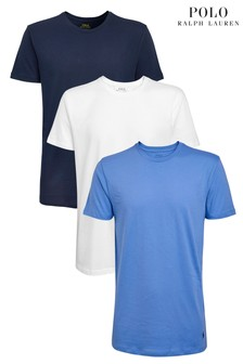 Polo Ralph Lauren Navy/White/Blue T-Shirts Three Pack