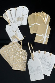 20 Pack Gold Gift Tags