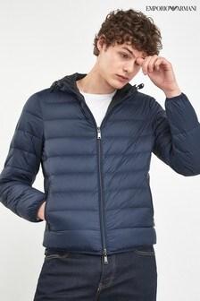 Emporio Armani Navy/Black Reversible Jacket