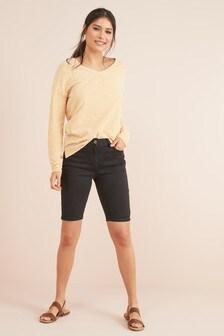 Skinny Knee Shorts