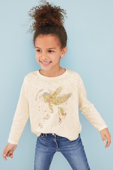 Unicorn Long Sleeve T-Shirt (3-16yrs)
