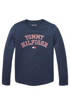 Tommy Hilfiger Blue Logo Tee