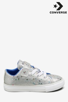Converse Glitter 1 Velcro Infant Trainers