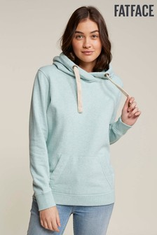 FatFace Green Heritage Overhead Hoody