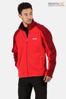Regatta Red Hedman Ii Full Zip Fleece