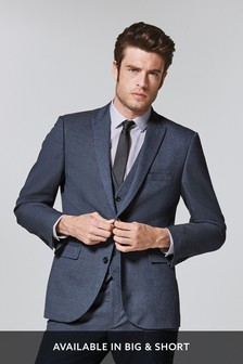 Textured Suit: Jacket