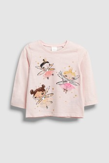 Long Sleeve Fairy Tee (3mths-7yrs)