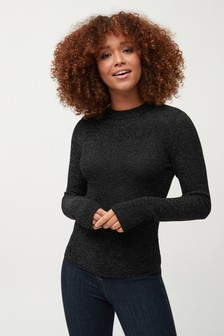 19f3f7a3bf5 Womens Black Jumpers | Knitted Black Sweaters For Ladies | Next