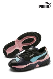 Puma® Storm Y Metallic Trainers
