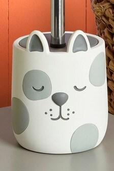 Organizador de cepillos de dientes con diseño de perro