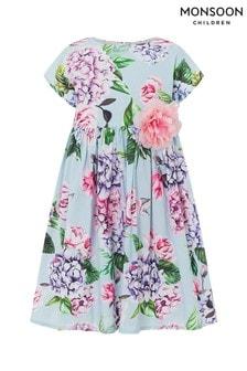 Monsoon Multi Fleur Hydrangea Dress