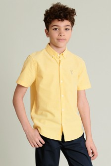 Short Sleeve Oxford Shirt (3-16yrs)
