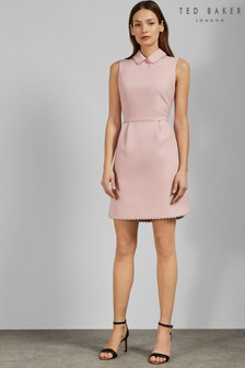 8611ba25213b Ted Baker Pink Scallop Dress