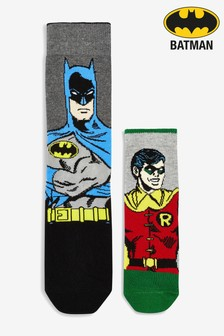 Batman® And Robin Adult And Child Socks Two Pack
