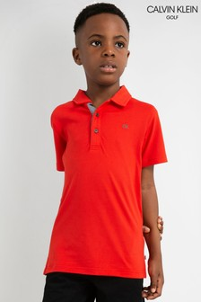 Calvin Klein Golf Newport Junior Poloshirt