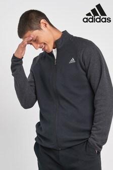 adidas Golf Black Climawarn 1/4 Zip Sweater