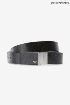 Emporio Armani Black Belt Gift Box