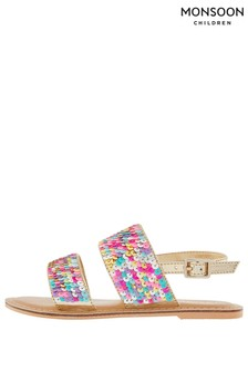 Monsoon Multi Sandy Sequin Sandal